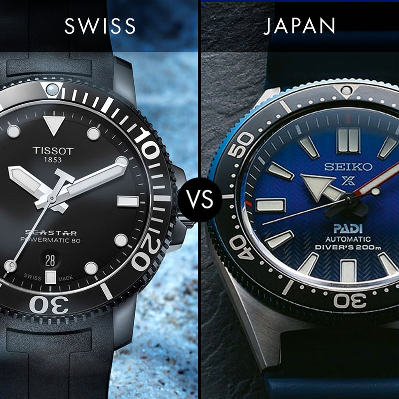 Dive watches; Should you go Swiss or Japanese?