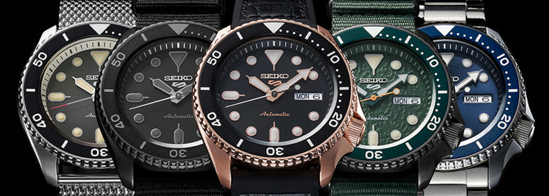 Seiko 5 – Watches that you will fall in love with because of the value you get from them