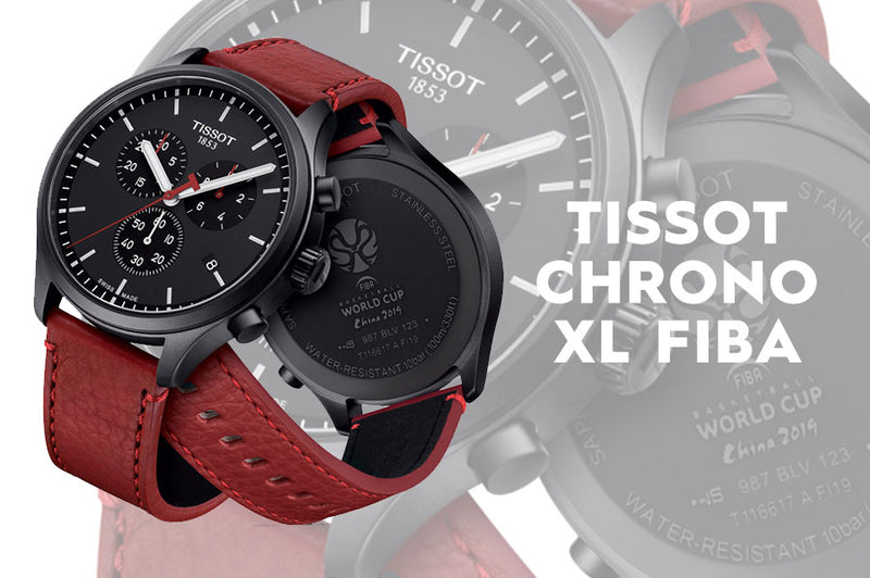Press Release: Tissot Chrono XL Fiba