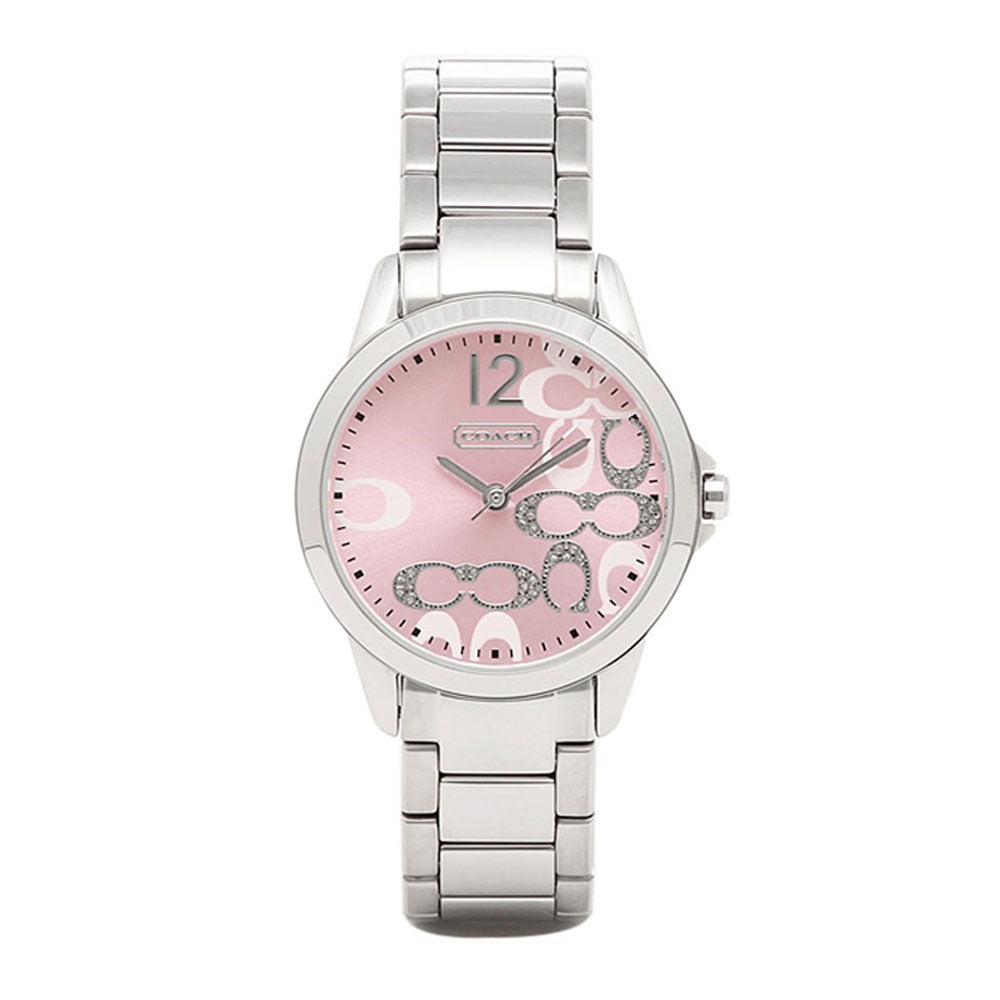 COACH CLASSIC SIGNATURE ANALOG QUARTZ 14501617 WOMEN'S WATCH