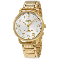 COACH DELANCEY ANALOG QUARTZ GOLD STAINLESS STEEL 14502496 WOMEN'S WATCH