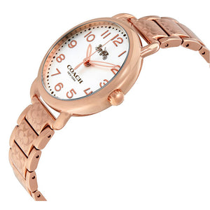 COACH DELANCEY ANALOG QUARTZ ROSE GOLD STAINLESS STEEL 14502497 WOMEN'S WATCH