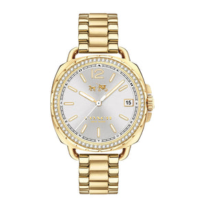 COACH TATUM ANALOG QUARTZ GOLD STAINLESS STEEL 14502589 WOMEN'S WATCH