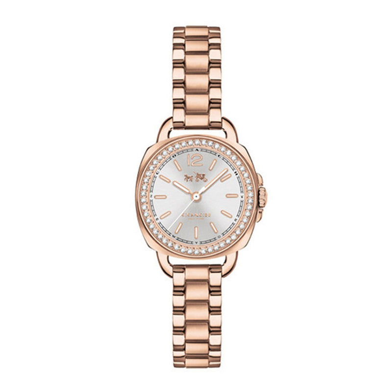 COACH TATUM ANALOG QUARTZ ROSE GOLD STAINLESS STEEL 14502643 WOMEN'S WATCH