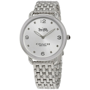 COACH DELANCEY ANALOG QUARTZ SILVER STAINLESS STEEL 14502785 WOMEN'S WATCH