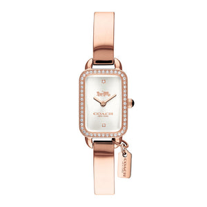 COACH LUDLOW ANALOG QUARTZ ROSE GOLD STAINLESS STEEL 14502825 WOMEN'S WATCH