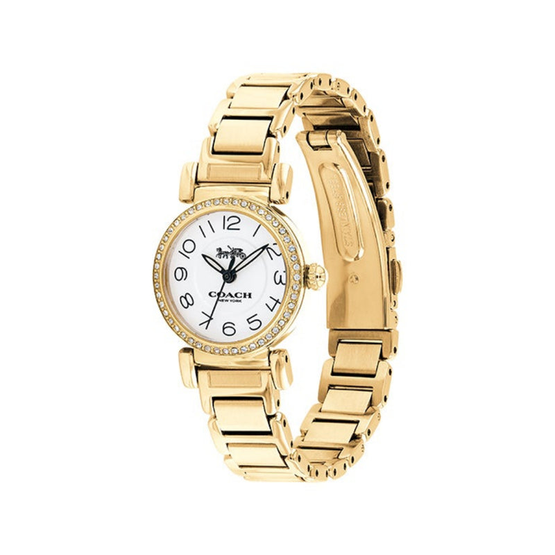 COACH MADISON ANALOG QUARTZ GOLD STAINLESS STEEL 14502852 WOMEN'S WATCH