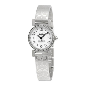 COACH MADISON ANALOG QUARTZ SILVER STAINLESS STEEL 14502870 WOMEN'S WATCH
