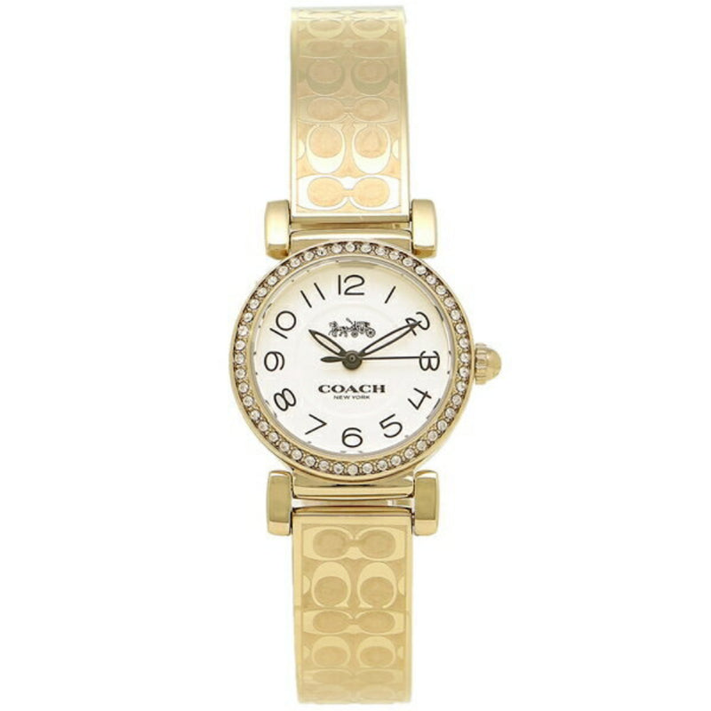 COACH MADISON  ANALOG QUARTZ GOLD STAINLESS STEEL 14502871 WOMEN'S WATCH