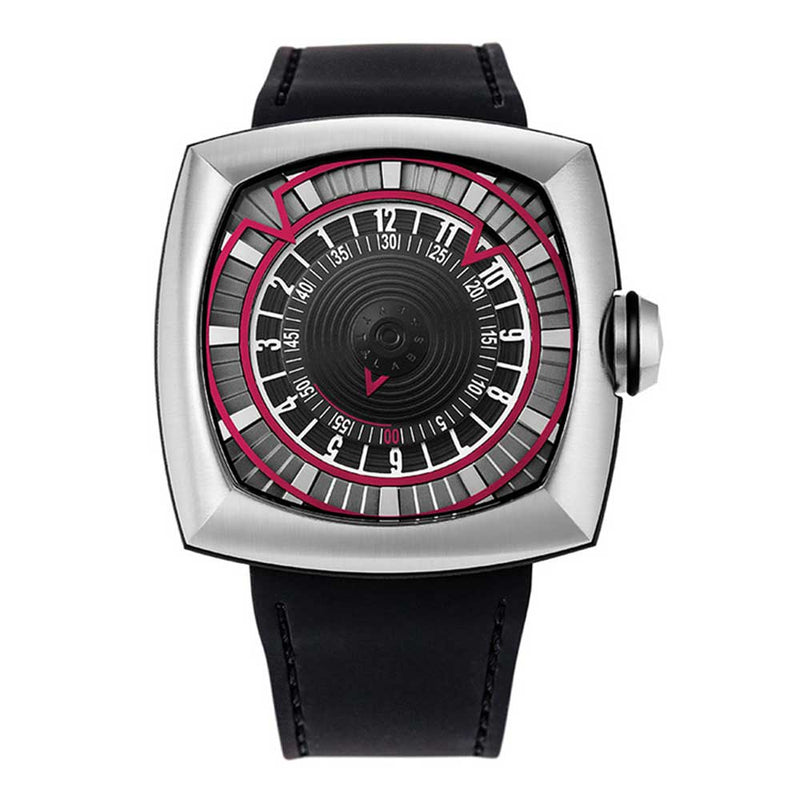LYTT LABS INCEPTION V1.0 STEEL/RED A01-01 MEN'S WATCH