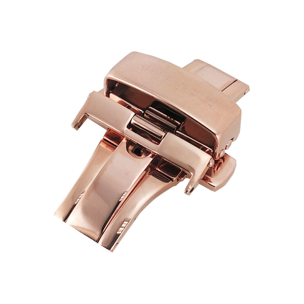 ARIES GOLD AG-B0002 ROSE GOLD BUTTERFLY BUCKLE