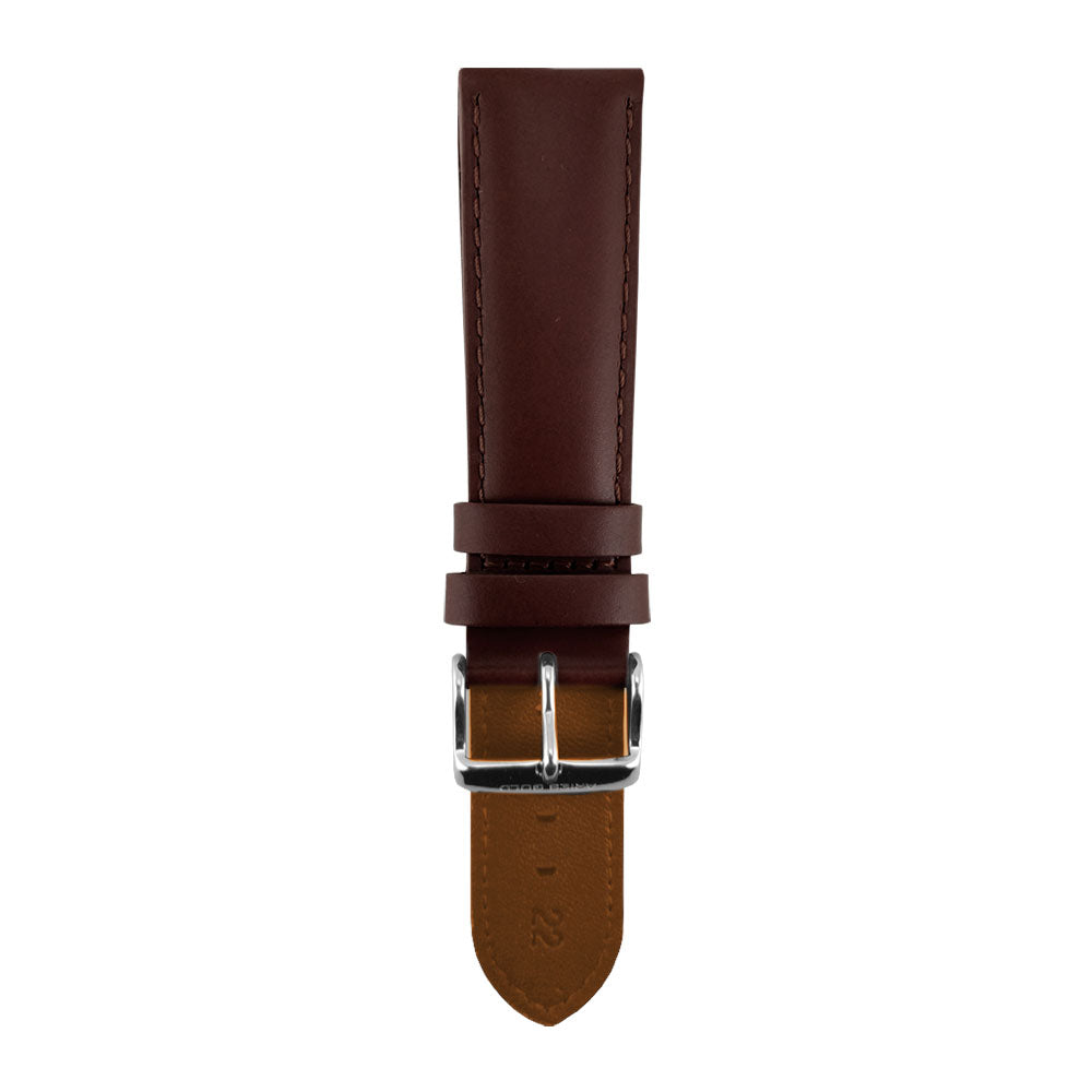 ARIES GOLD UMBER BROWN AG-L0018 LEATHER STRAP
