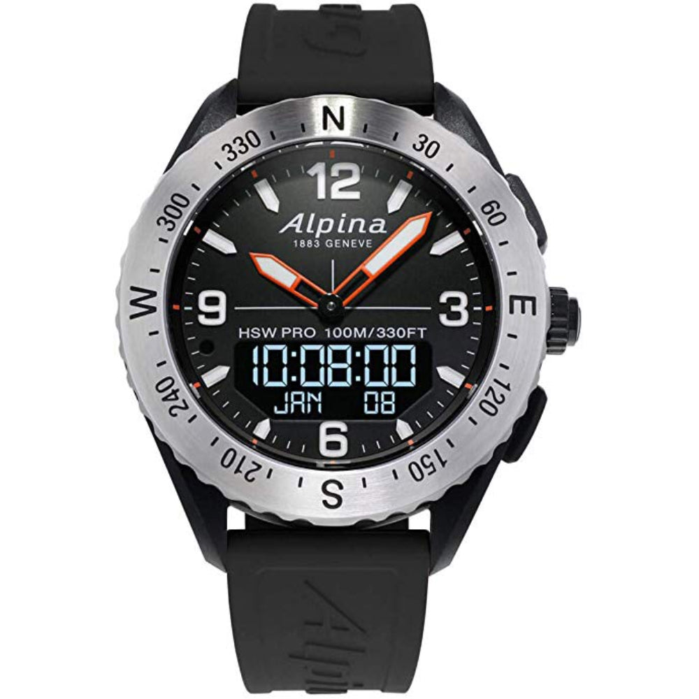 ALPINA ALPINERX SMARTWATCH AL-283LBBO5SAQ6 MEN'S WATCH