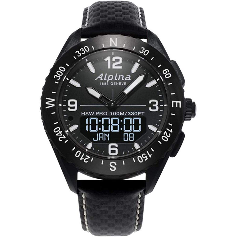 ALPINA ALPINERX SMARTWATCH  AL-283LBBW5AQ6 MEN'S WATCH