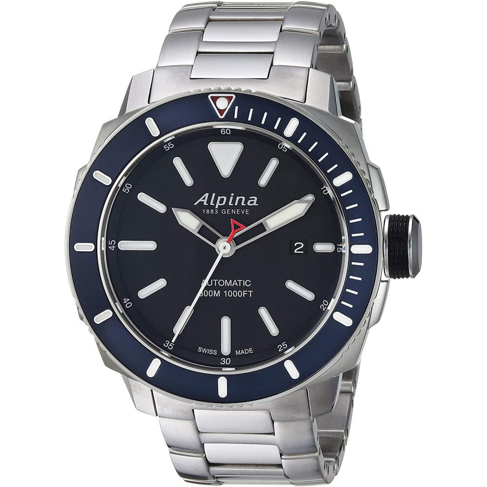 ALPINA SEASTRONG DIVER 300 AL-525LBN4V6B MEN'S WATCH