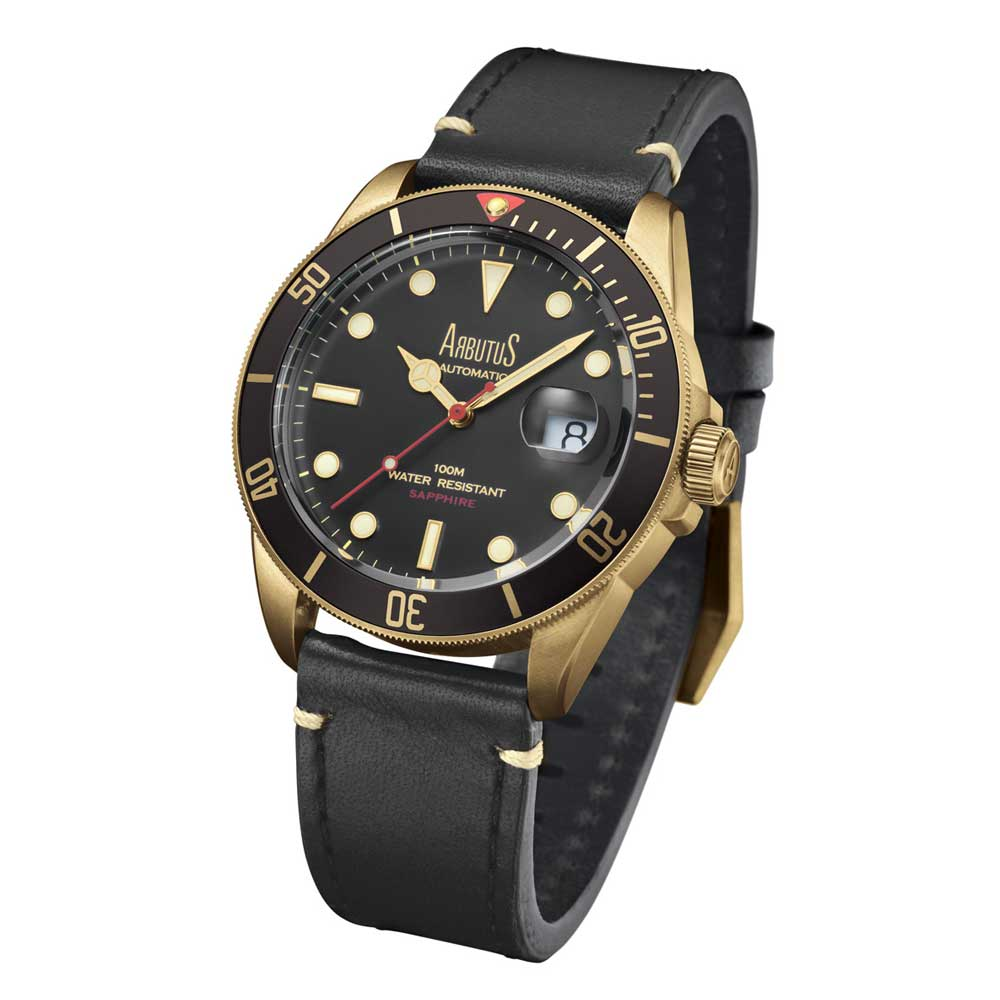 ARBUTUS ARBR01GBB MEN'S WATCH