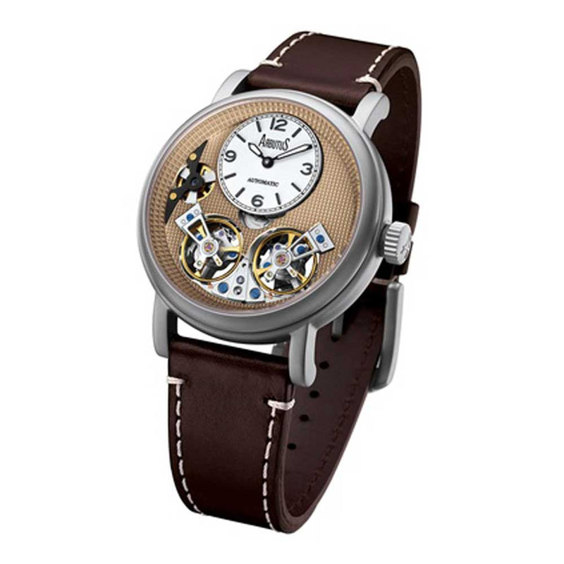 ARBUTUS OPEN HEART AR1804SFF MEN'S WATCH