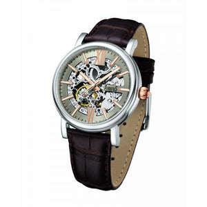 ARBUTUS CLASSIC SKELETON AUTOMATIC AR911SFF MEN'S WATCH
