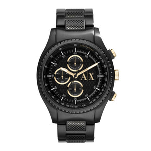 ARMANI EXCHANGE CHRONOGRAPH BLACK STAINLESS STEEL AX1604 MEN'S WATCH