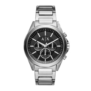 ARMANI EXCHANGE CHRONOGRAPH SILVER STAINLESS STEEL AX2600 MEN'S WATCH