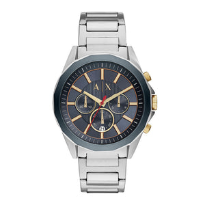 ARMANI EXCHANGE CHRONOGRAPH SILVER STAINLESS STEEL AX2614 MEN'S WATCH