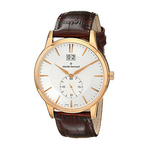 CLAUDE BERNARD CLASSIC SUB-SECOND CB64005-37R-AIR MEN'S WATCH