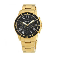 FOSSIL GRANT CHRONOGRAPH GOLD STAINLESS STEEL FS5267 MEN'S WATCH