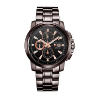 ARIES GOLD INSPIRE CONTENDER G 7301 CF-BKRG MEN'S WATCH