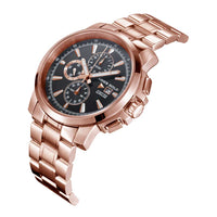 ARIES GOLD INSPIRE CONTENDER ROSE GOLD STAINLESS STEEL G 7301 RG-BKRG MEN'S WATCH