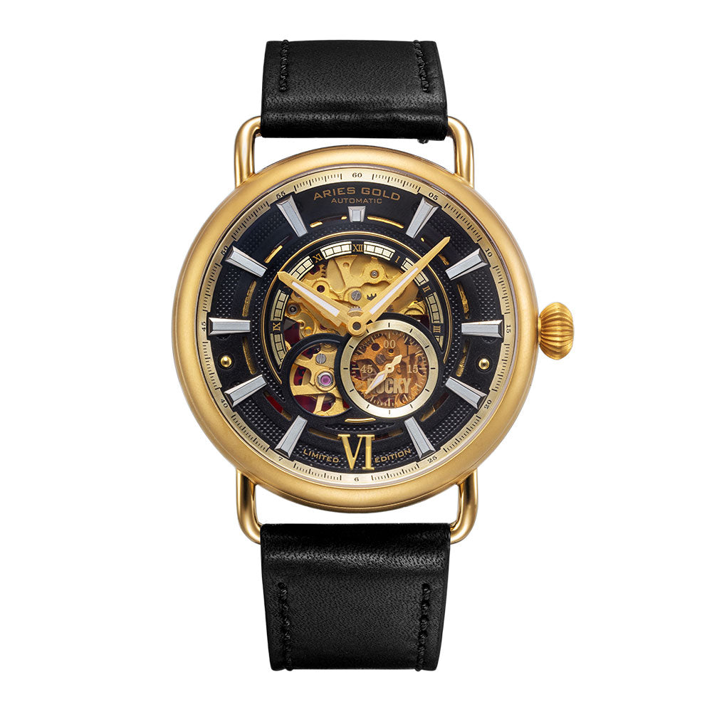 ARIES GOLD ROCKY LIMITED EDITION INVINCIBLE G 9013 G-BK