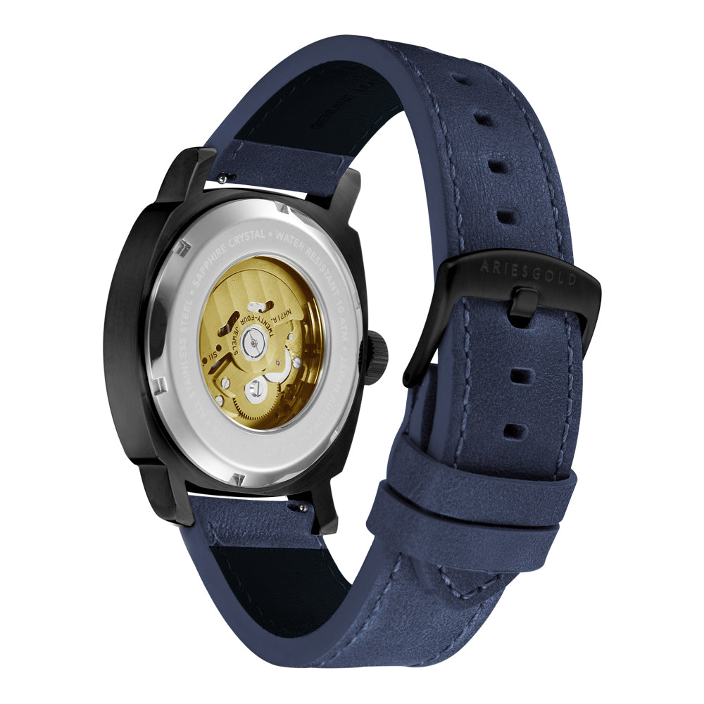 ARIES GOLD VANGUARD G 9025 BK-BUG MEN'S WATCH