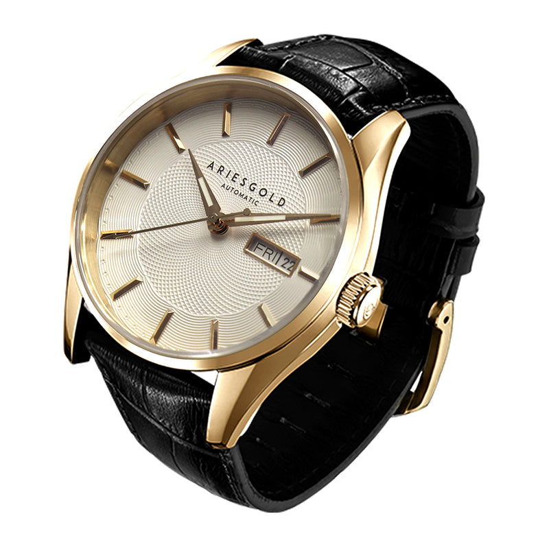 ARIES GOLD PRESIDENT G 9024 G-W MEN'S WATCH