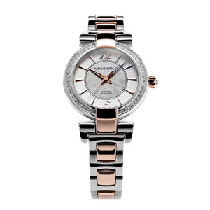 ARIES GOLD ENCHANT BELLE L 500 2TR-WHITE WOMEN'S WATCH
