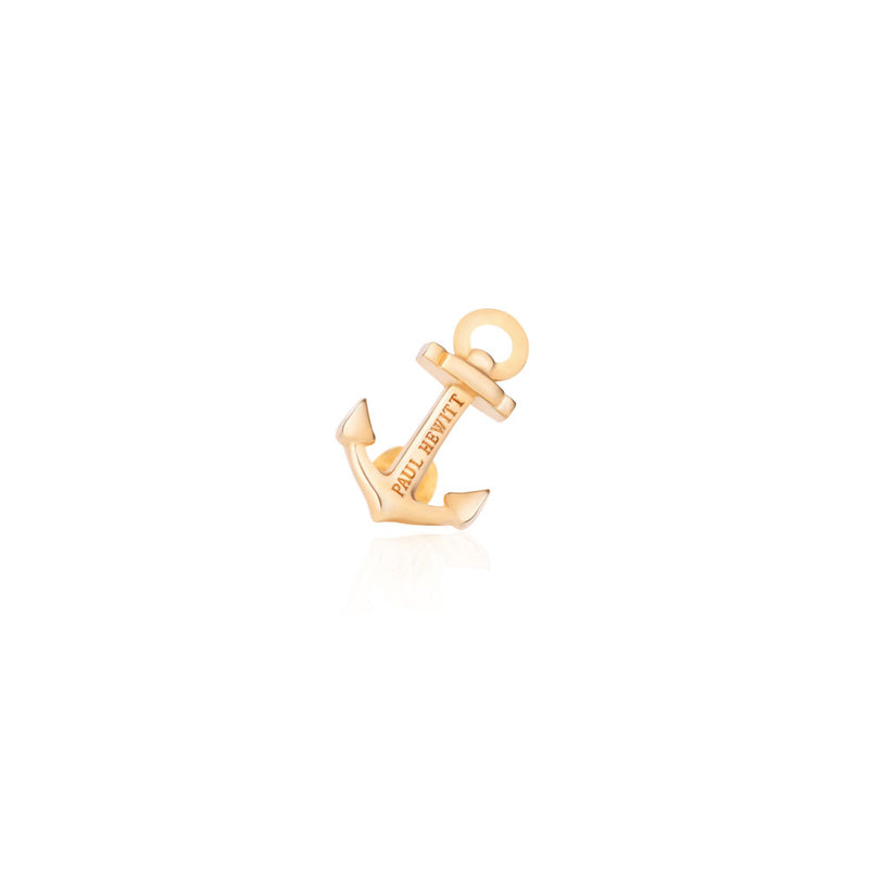 PAUL HEWITT ACCESSORY CHARM ANCHOR IP GOLD