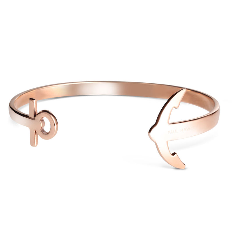 PAUL HEWITT ACCESSORY ROSE GOLD ANCUFF STAINLESS STEEL