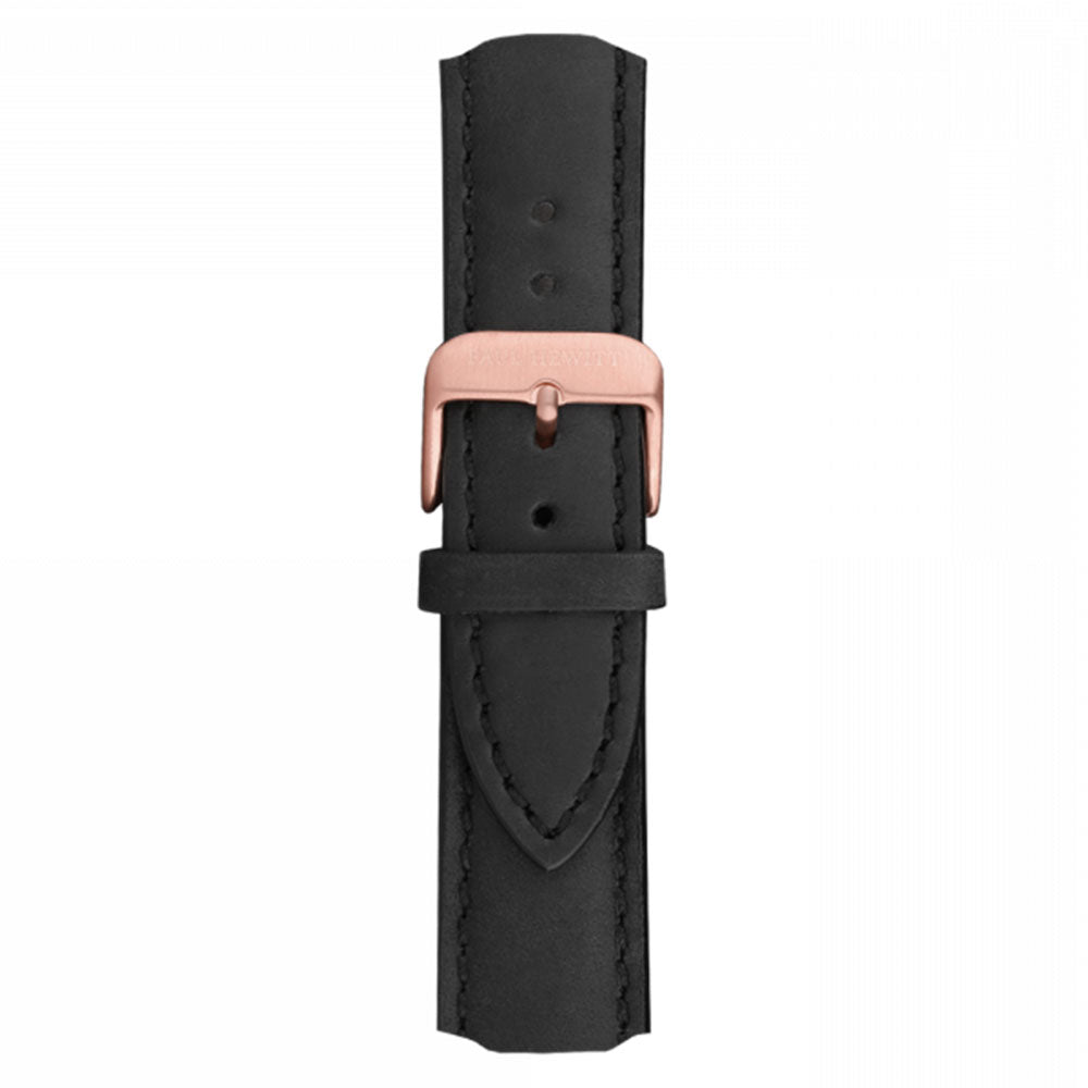 PAUL HEWITT ACCESSORY WATCH STRAP ROSE GOLD BLACK