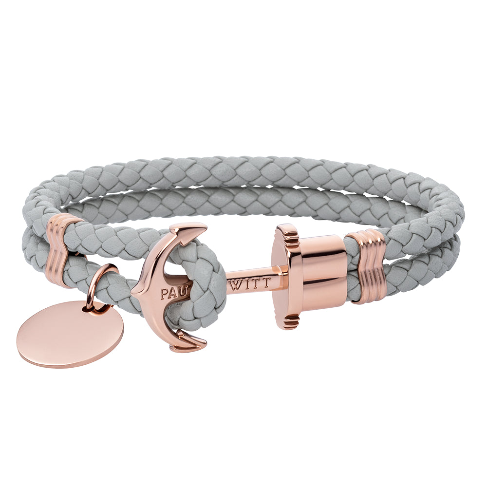PAUL HEWITT PHREP ANCHOR PH-PH-L-R-GR WOMEN'S BRACELET