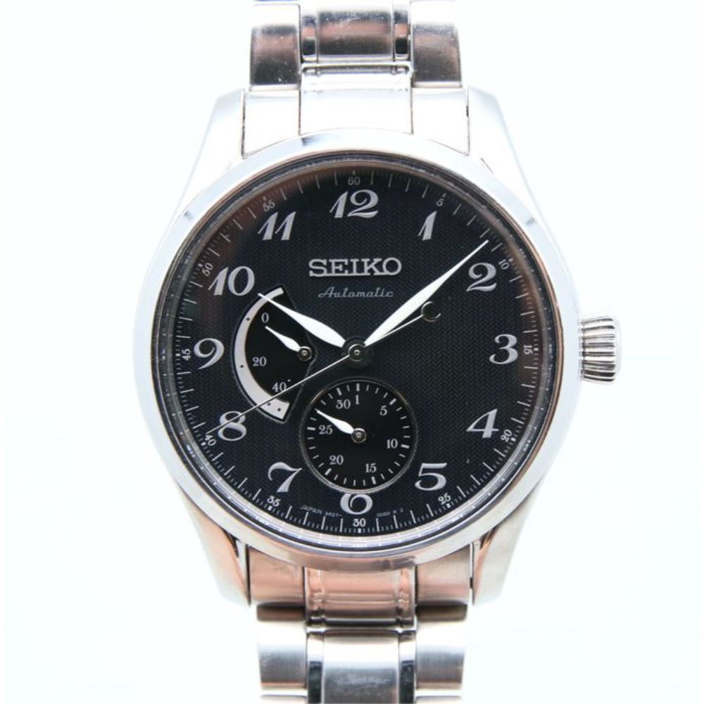 SEIKO PRESAGE AUTOMATIC SPB043J1 STAINLESS STEEL MEN'S SILVER WATCH
