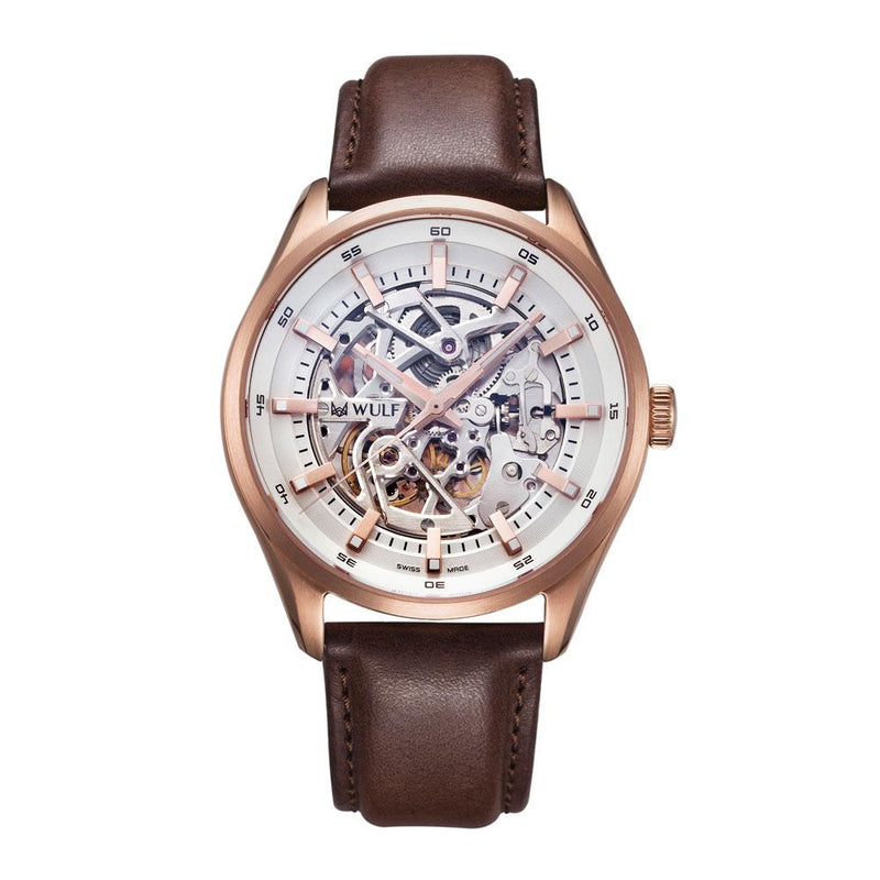 WULF EXO WF02.02 SWISS MECHANICAL MEN'S WATCH