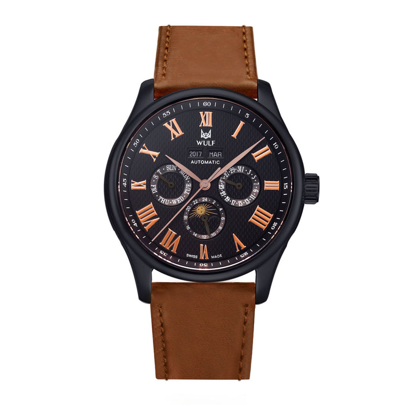 WULF LYCAN WF03.05 SWISS MECHANICAL MEN'S WATCH