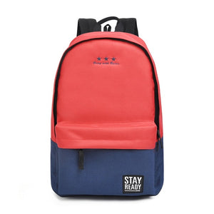 2-tone Boxy Backpack