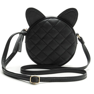 Adorable Cat Eared Crossbody Bag