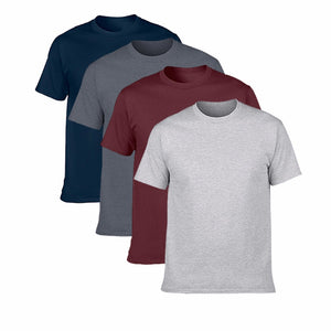 4 Piece Mens T-Shirts Set