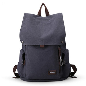 Muzee Canvas Male Backpack