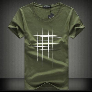 Printed Short Sleeve Men T-Shirt