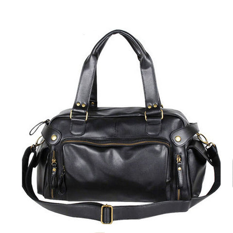 Vintage Mens Leather Bag