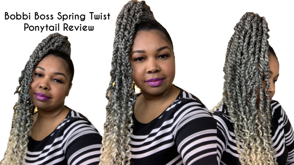 Bobbi Boss Spring Twist Ponytail Review