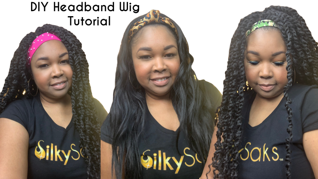 DIY Headband Wig Tutorial