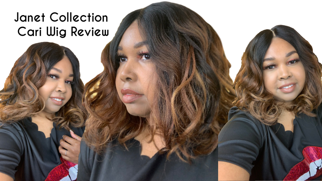 Janet Collection Cari Wig Review