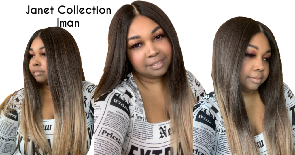 Janet Collection Iman Wig Review